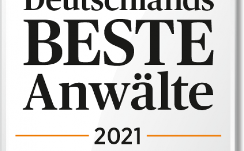 Classement du Handelsblatt – Les meilleurs avocats d'Allemagne 2021